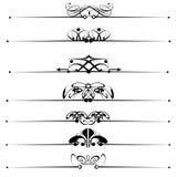Elementos decorativos Imagem de Stock