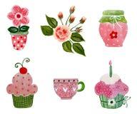 Elementos decorativos Foto de archivo libre de regalías
