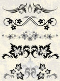 Elementos decorativos Imagen de archivo