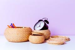 Elementos decorativos fotografia de stock royalty free