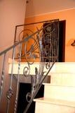 Elementos decorativos de aço Imagens de Stock Royalty Free