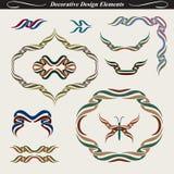 Elementos decorativos 1 del diseño ilustración del vector