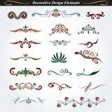 Elementos decorativos 8 del diseño ilustración del vector