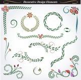 Elementos decorativos 10 del diseño ilustración del vector