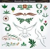 Elementos decorativos 15 del diseño stock de ilustración