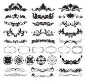 Elementos decorativos del diseño libre illustration