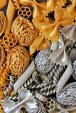Elementos decorativos del oro y de la plata, fondo, textura Imagen de archivo libre de regalías