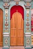 Elementos decorativos dentro da igreja ortodoxa do russo imagem de stock