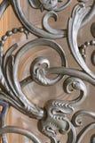 Elementos decorativos dentro da igreja ortodoxa do russo imagem de stock royalty free