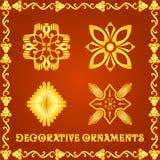 Elementos decorativos para projetos Foto de Stock Royalty Free