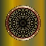 Elementos decorativos redondos Foto de archivo libre de regalías