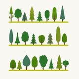 Elementos del bosque Foto de archivo