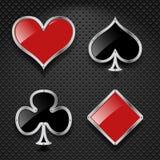 Elementos del casino ilustración del vector