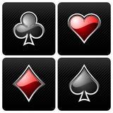 Elementos del casino Fotografía de archivo libre de regalías