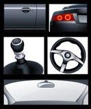 Elementos del coche Fotos de archivo libres de regalías