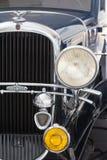 Elementos del coche del americano del vintage Imagenes de archivo