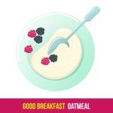 Elementos del desayuno Imagen de archivo