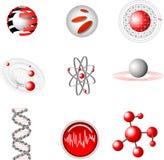 elementos del diseño 3d. Imagen de archivo