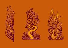 Elementos del diseño Imagenes de archivo