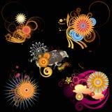 Elementos del diseño Imágenes de archivo libres de regalías