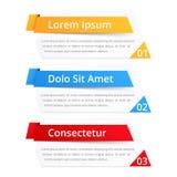 Elementos del diseño con números y texto libre illustration