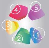 elementos del diseño 3D Foto de archivo