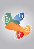 elementos del diseño 3D Fotografía de archivo