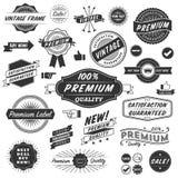 Elementos del diseño de Copyspace del vintage Foto de archivo