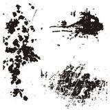 Elementos del diseño de Grunge Imagen de archivo