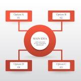 Elementos del diseño de Infographic para su negocio Imagen de archivo