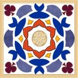 Elementos del diseño de la decoración de la frontera del vector Imagen de archivo