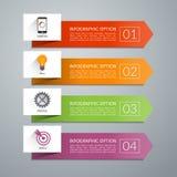 Elementos del diseño de la flecha del vector para el infographics libre illustration