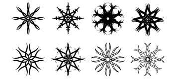 Elementos del diseño de la flor Imágenes de archivo libres de regalías