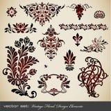 Elementos del diseño de la vendimia libre illustration