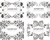 Elementos del diseño de la vendimia Imagen de archivo