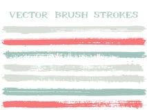 Elementos del diseño de los movimientos del cepillo de la tinta del inconformista libre illustration