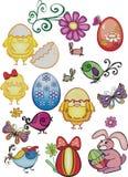 Elementos del diseño de Pascua libre illustration