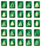 Elementos del diseño del Año Nuevo Imagenes de archivo