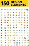 Elementos del diseño del blog Fotos de archivo libres de regalías