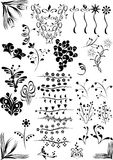 Elementos del diseño del estilo Imagen de archivo libre de regalías