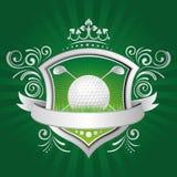 elementos del diseño del golf libre illustration