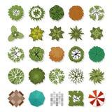 Elementos del diseño del paisaje imagen de archivo libre de regalías