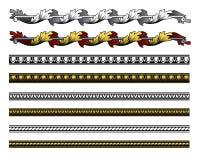 Elementos del diseño del renacimiento Imágenes de archivo libres de regalías
