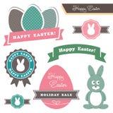 Elementos del diseño del tema de Pascua Imagen de archivo libre de regalías