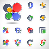 Elementos del diseño del vector Imagen de archivo