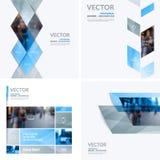 Elementos del diseño del vector del negocio para la disposición gráfica moderno Fotografía de archivo