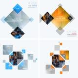 Elementos del diseño del vector del negocio para la disposición gráfica Resumen moderno Fotografía de archivo libre de regalías