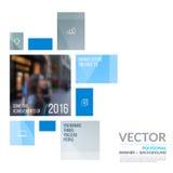 Elementos del diseño del vector del negocio para la disposición gráfica Resumen moderno Fotografía de archivo
