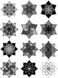 Elementos del diseño gráfico Imagen de archivo