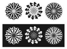 Elementos del diseño gráfico de vector Foto de archivo